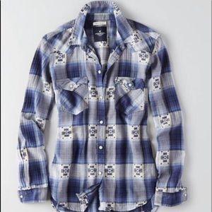 American Eagle Boyfriend Fit Shirt